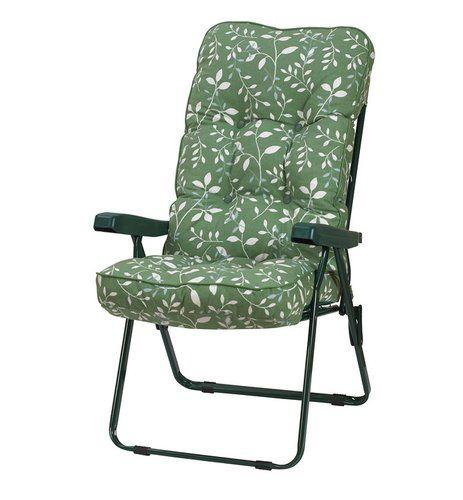 Patio Furniture Glendale Ca: Deluxe Recliner Chair With Cushion Glendale Leisure