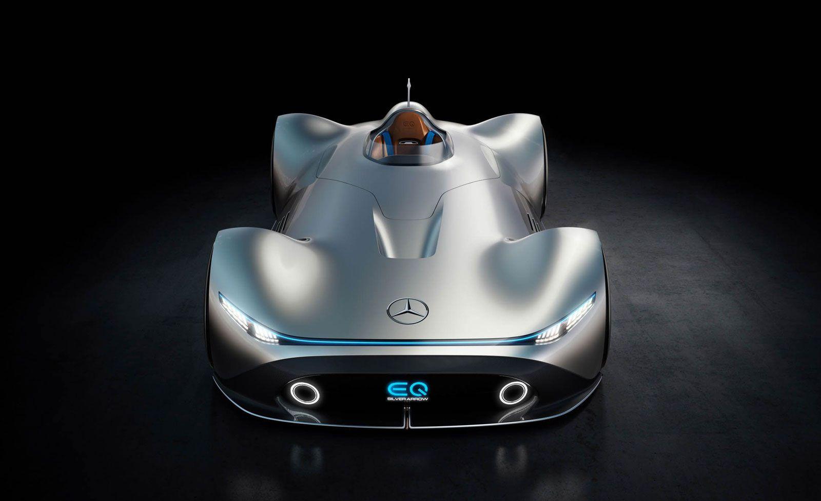 Mercedes Benz Vision Eq Silver Arrow Concept Design Render Benz Mercedes Benz Mercedes Car