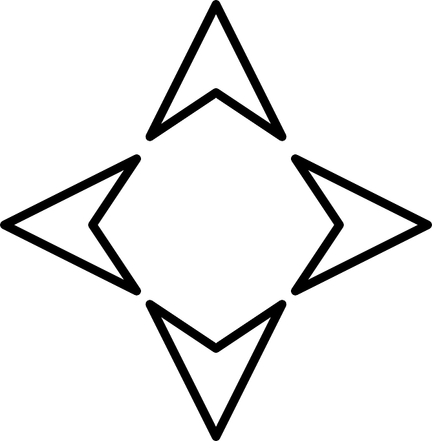 Free Image On Pixabay Arrows Directional Direction Triangle Tattoo Compass Clip Art
