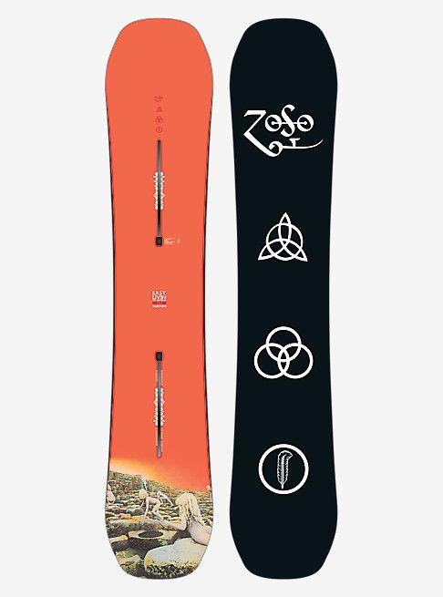 Shop The Led Zeppelin X Burton Easy Livin Snowboard Along With