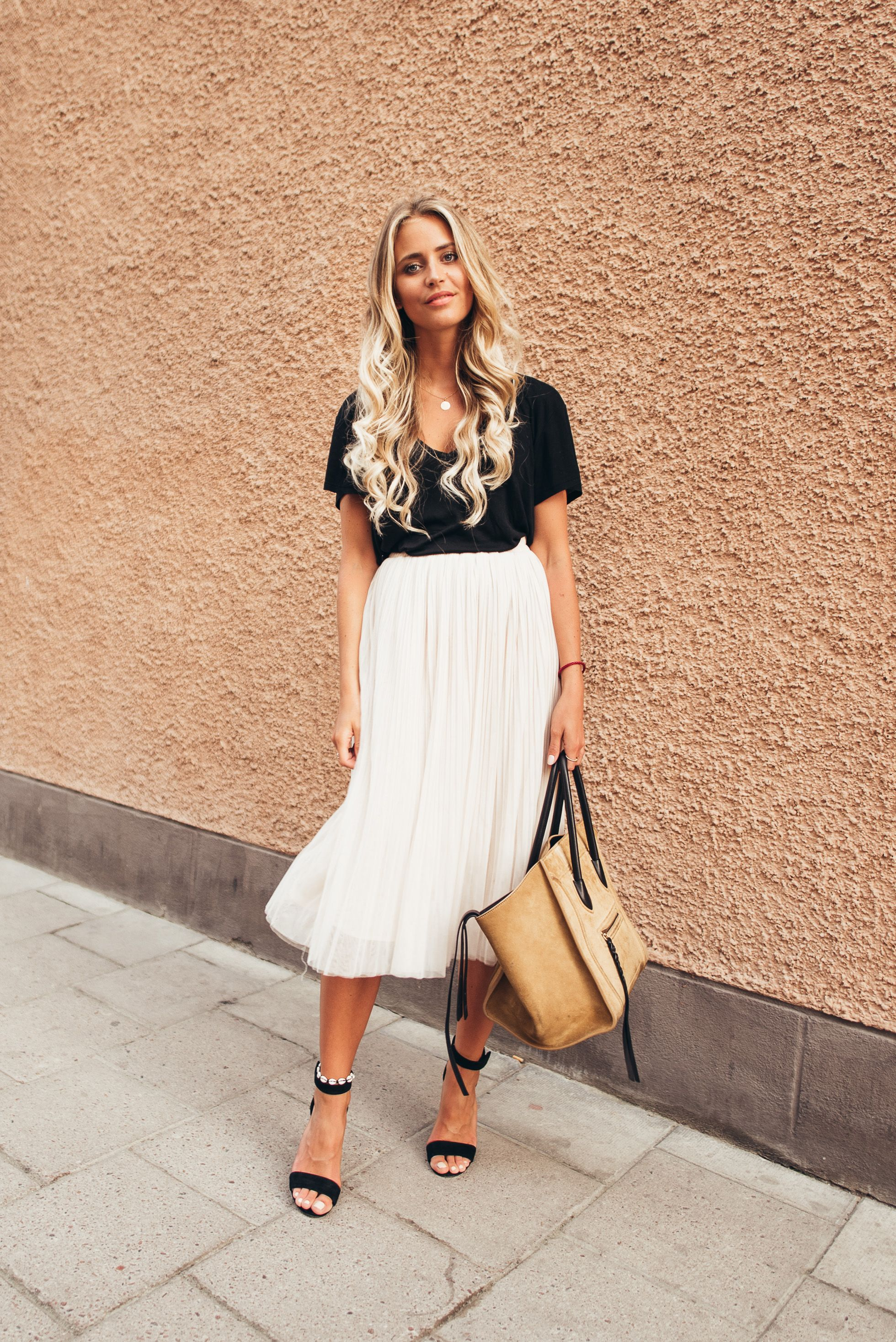 How to white style: skirts for summer pictures