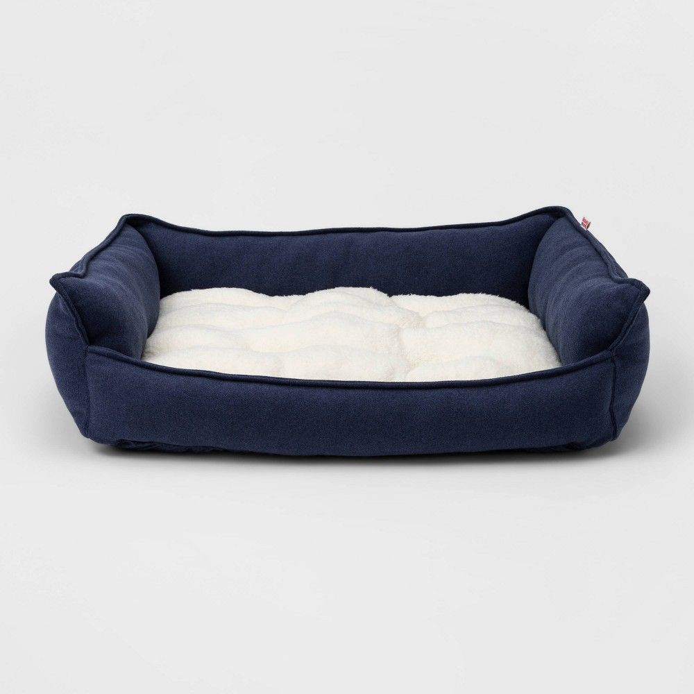 Rectangular Hi Wall Cuddler Dog Beds M Boots Barkley In 2020 Blue Dog Bed Dog Bed Dog Bed Buy