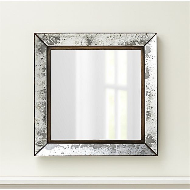 Dubois Large Square Wall Mirror   Mirror mirror✨   Pinterest ...
