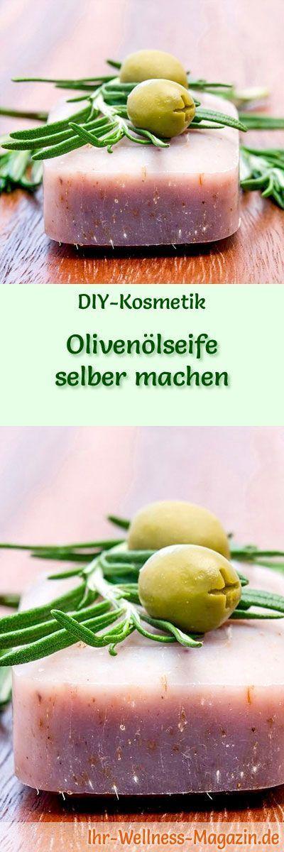 oliven lseife selber machen seifen rezept anleitung kleine geschenke pinterest. Black Bedroom Furniture Sets. Home Design Ideas
