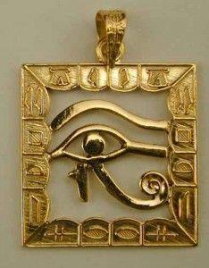 Joyas de plata con íconos egipcios, hechas a mano | Oro y Diamantes