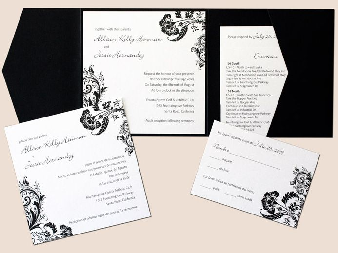 17 Best images about Wedding Invitation Ideas – Invitations Wedding Ideas