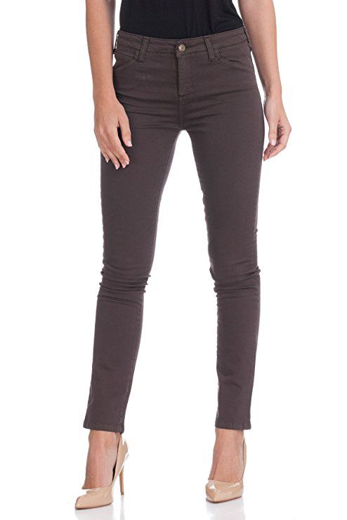 Oranjeans 0C331 - Straight Jeans for Women, size ES 38, color Coffee