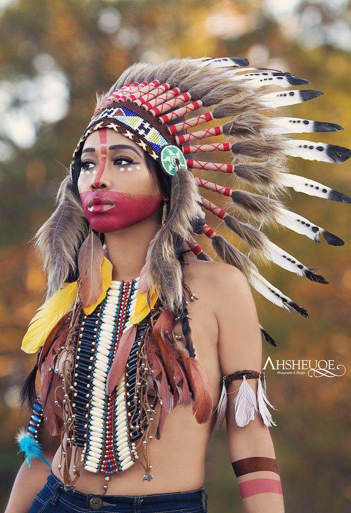 indianer sminke