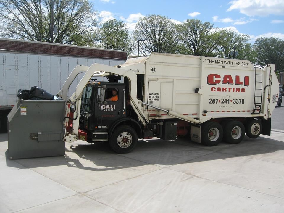 Our Trucks And Dumpsters Are Always Ready To Service New Jersey Be Sure To Keep Us In Mind For Any Spring Cleaning Proj Rubbish Truck Dumpster Rental Dumpster
