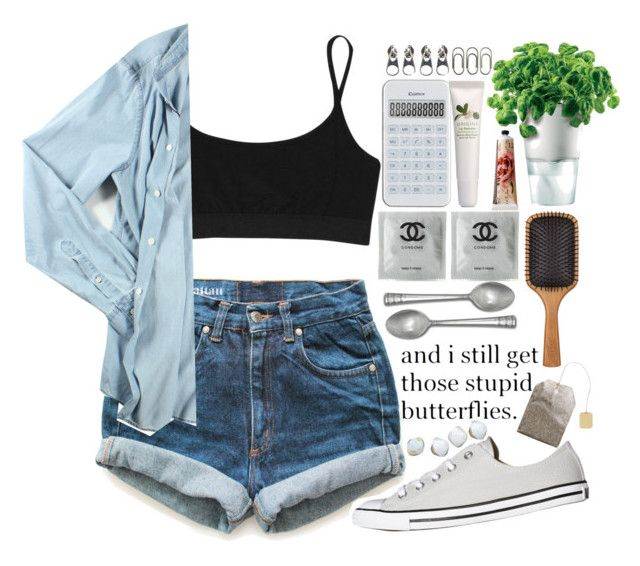 """""""and i want you in my life , and i need you in my life"""" by centurythe ❤ liked on Polyvore featuring Levi's, Eva Solo, Aveda, Full Tilt, T By Alexander Wang, Acne Studios, Converse, Origins and TokyoMilk"""