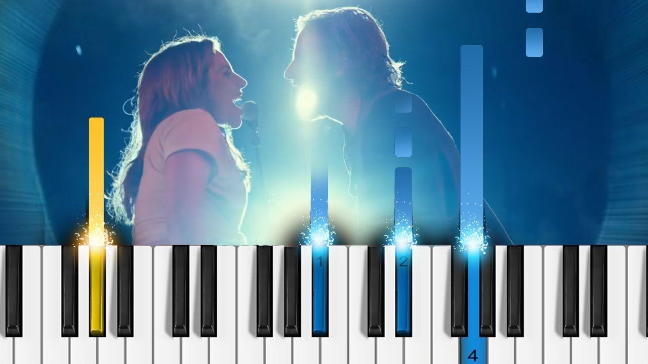 Lady Gaga, Bradley Cooper - Shallow (A Star Is Born) - Piano