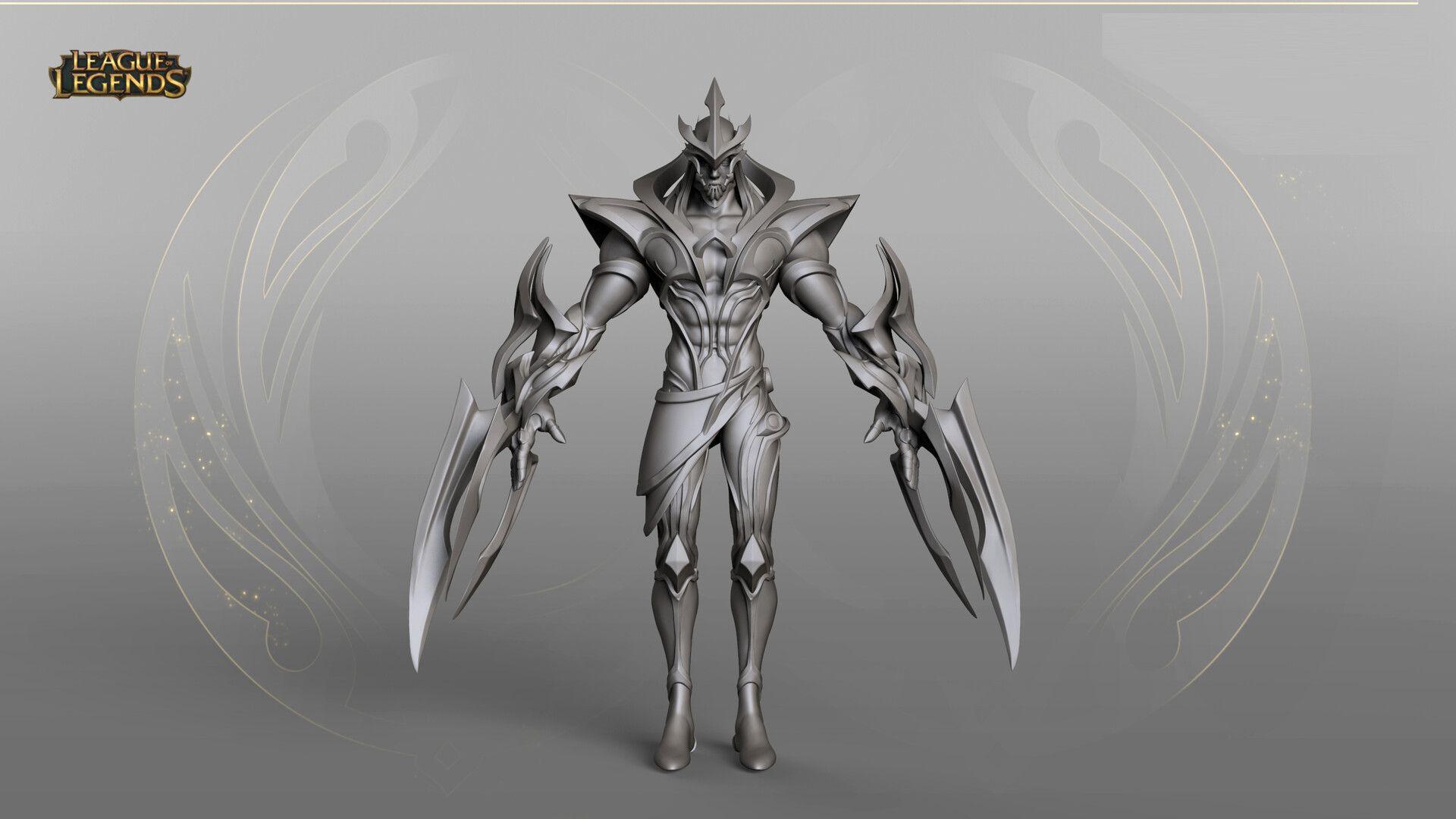 Artstation Galaxy Slayer Zed Duy Khanh Nguyen League Of Legends Game Slayer Artwork
