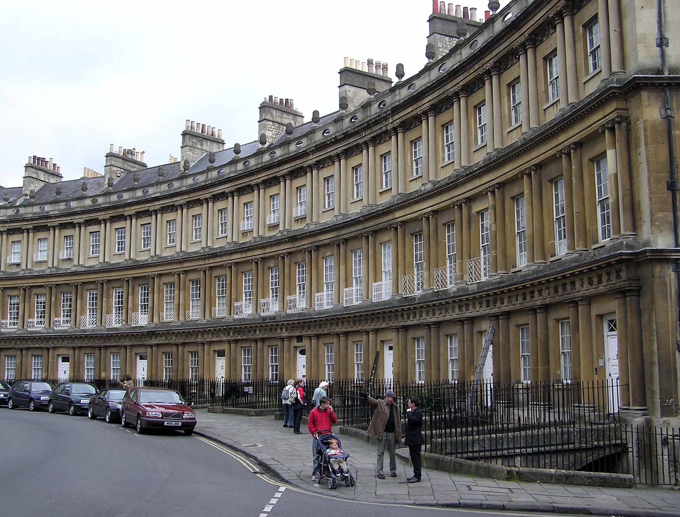The Circus Bath England By Wood The Elder And Younger
