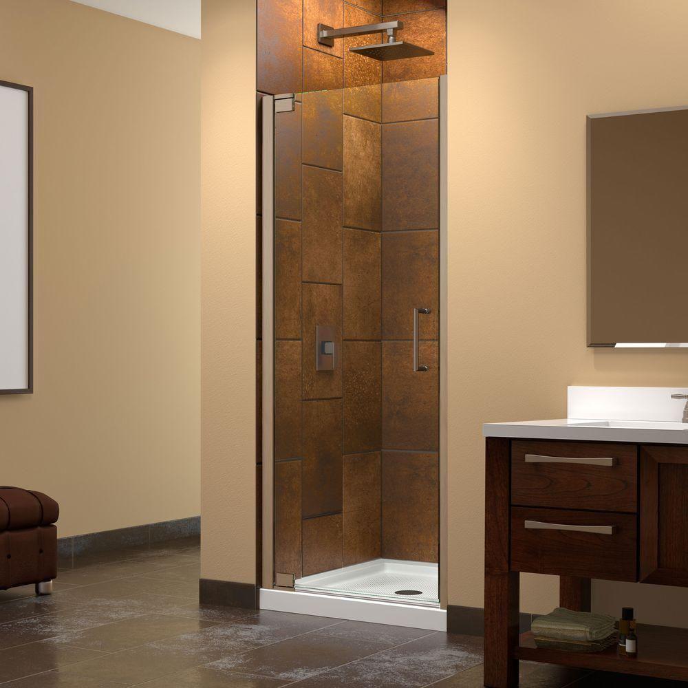 DreamLine Elegance 32 in. x 32 in. x 74-3/4 in. Standard Fit Shower ...