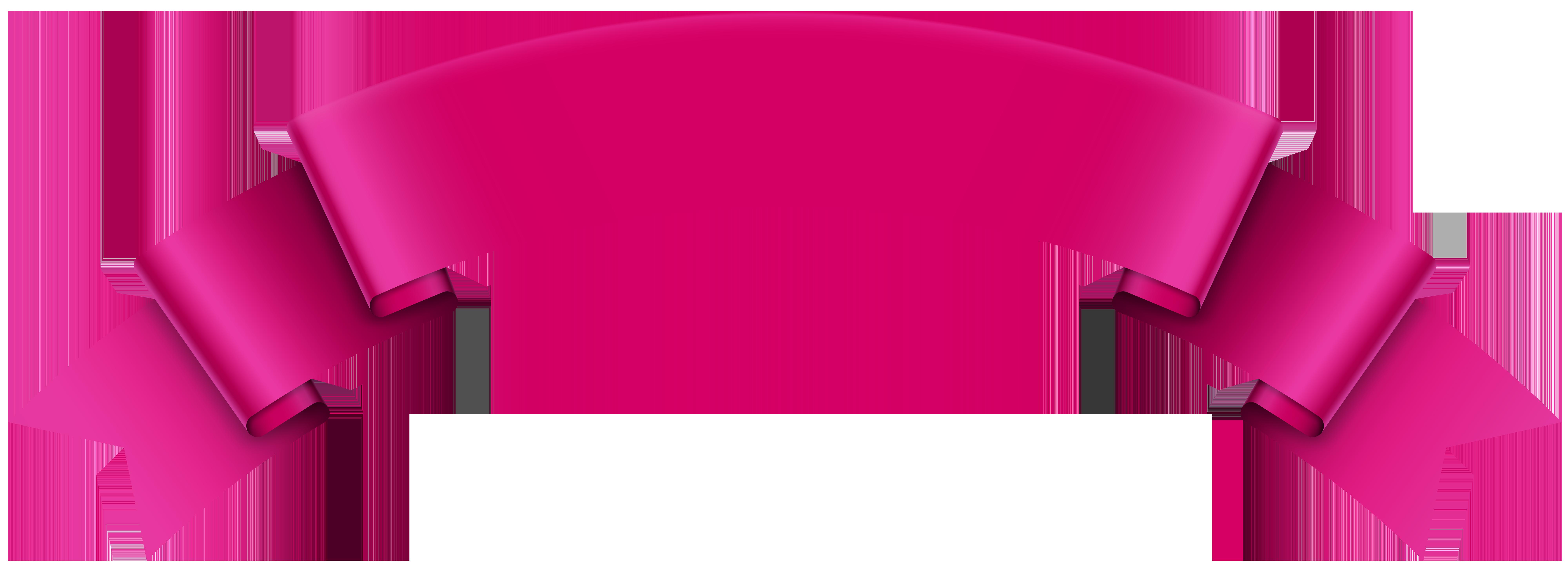 Banner Pink Transparent PNG Clip Art Image | Art images ...