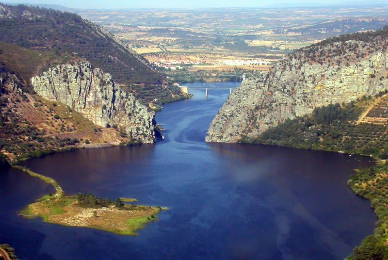 'Portas de Ródão'    Vila Velha de Ródão - Portugal    WGS84: 39° 39′ 5″ N, 7° 40′ 24″ W