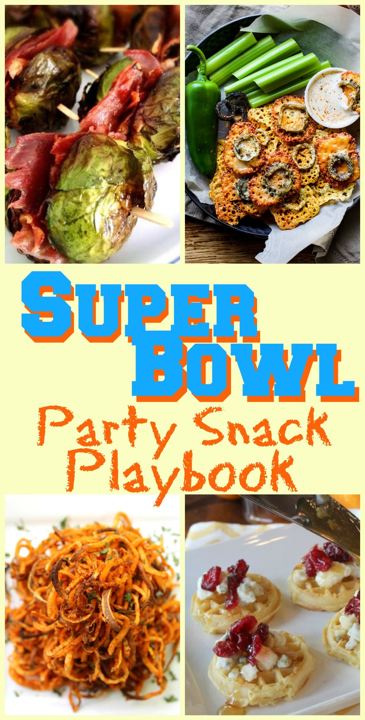 Super bowl party playbook recipes super bowl party super easy super bowl party playbook recipes forumfinder Image collections