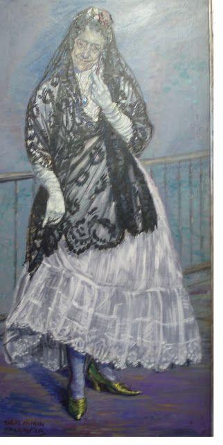 Benjam n palencia la celestina 1920 museo de albacete - Pintores en palencia ...