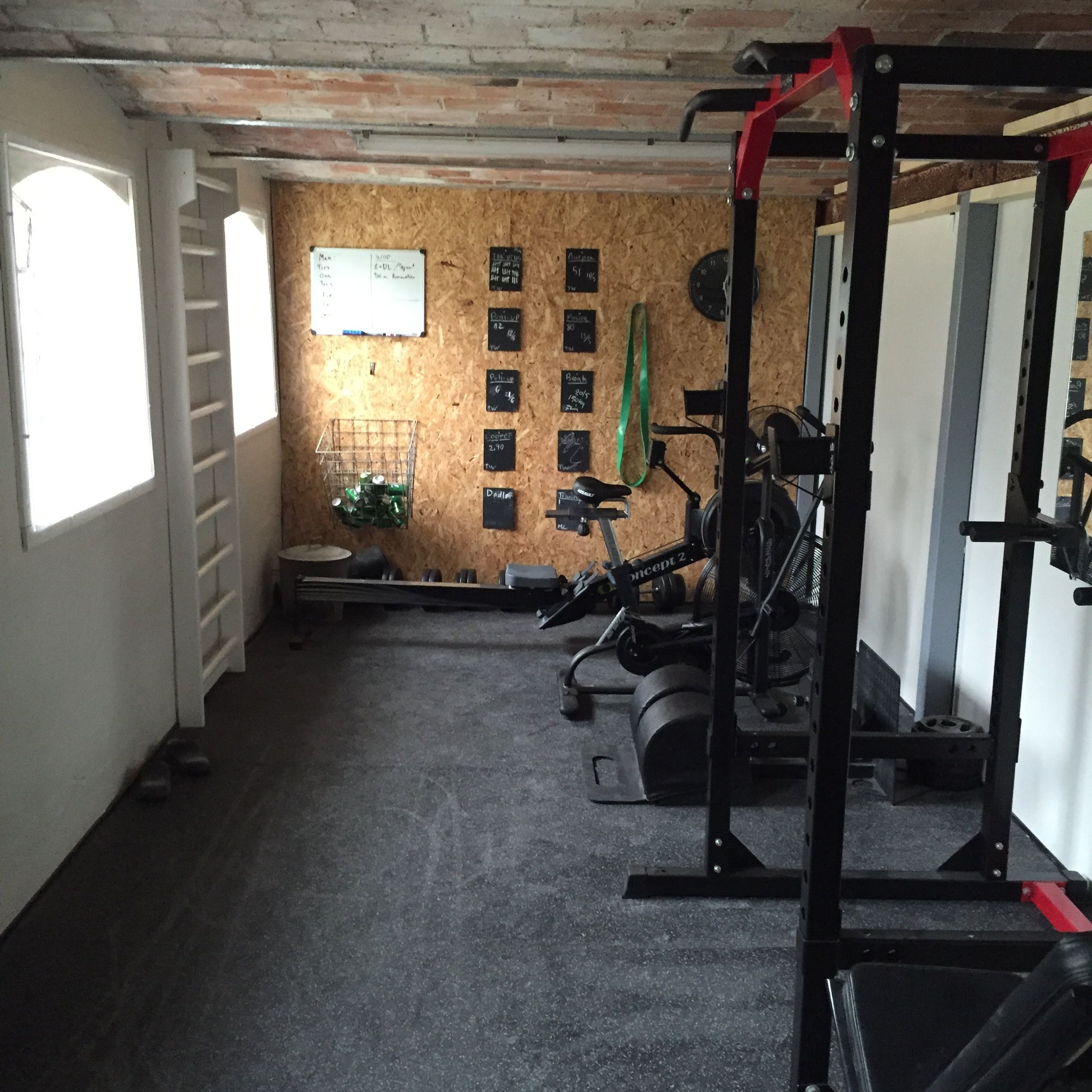 Image By Kim Rios On DIY Home Gym
