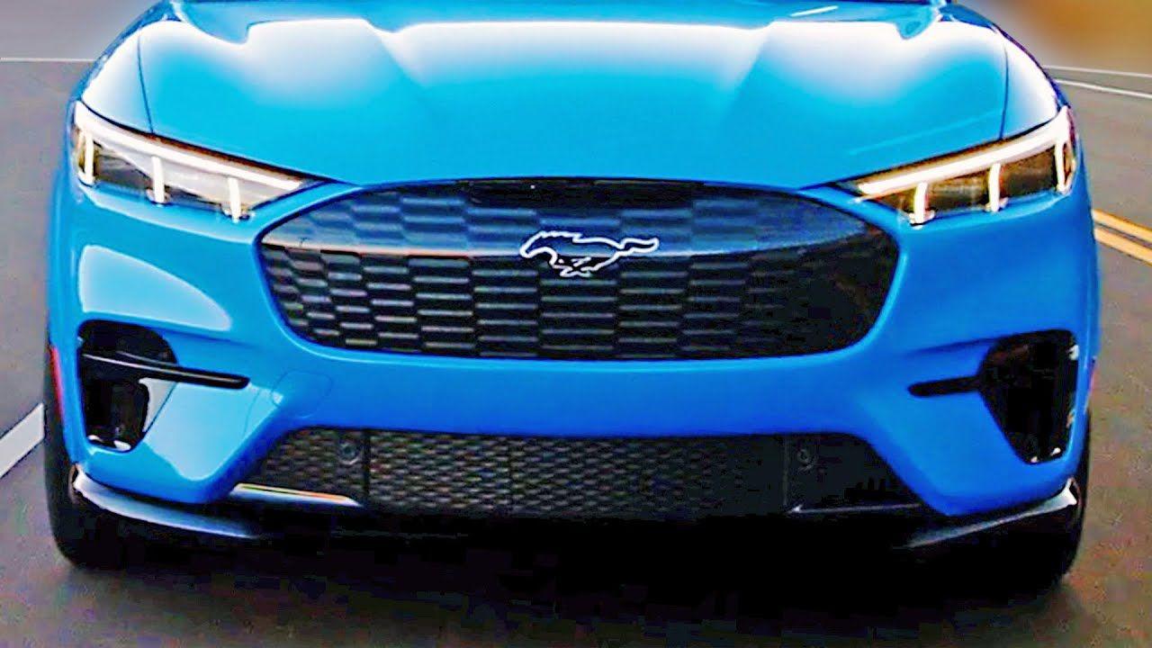 2021 Ford Mustang Mach E Electric Suv Design Interior Specs