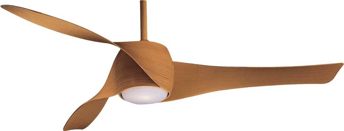 Minka-Aire Artemis F803-MP 58-inch Maple Finish Indoor Ceiling Fan ...
