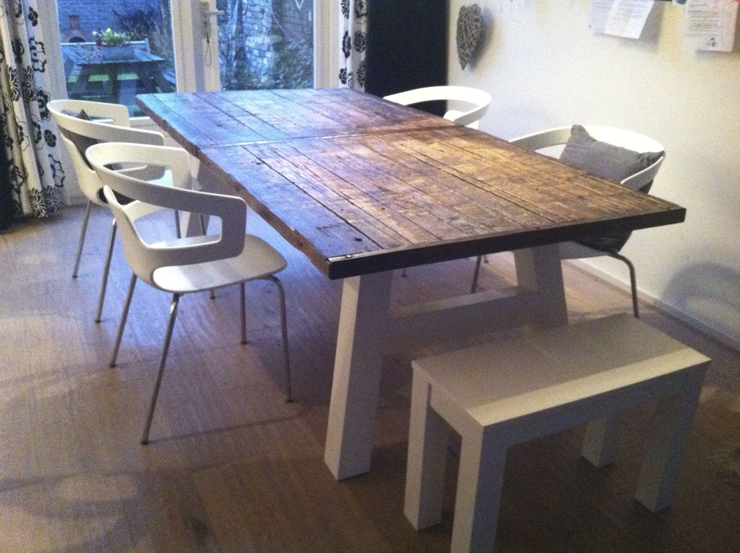 Tafel van steenschotten new livingroom t table for Tafel van steenschotten