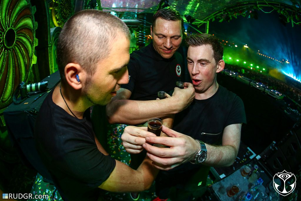 Tiësto, Hardwell & Dimitri Vegas @ The 2014 edition of Tomorrowland –  Weekend II