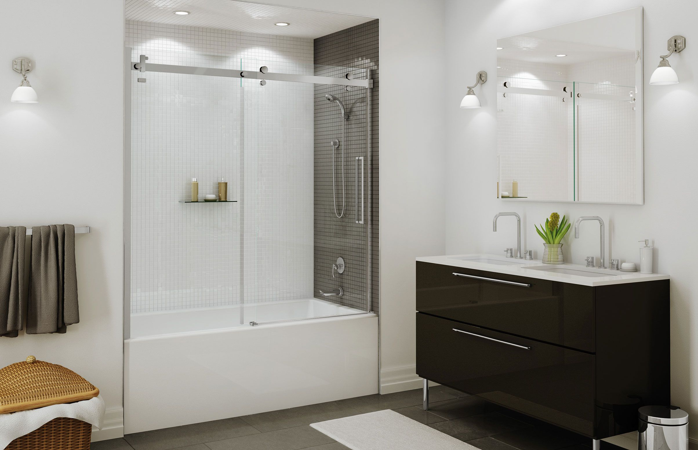 Halo sliding tub door - MAAX For second floor tub/shower. Door ...