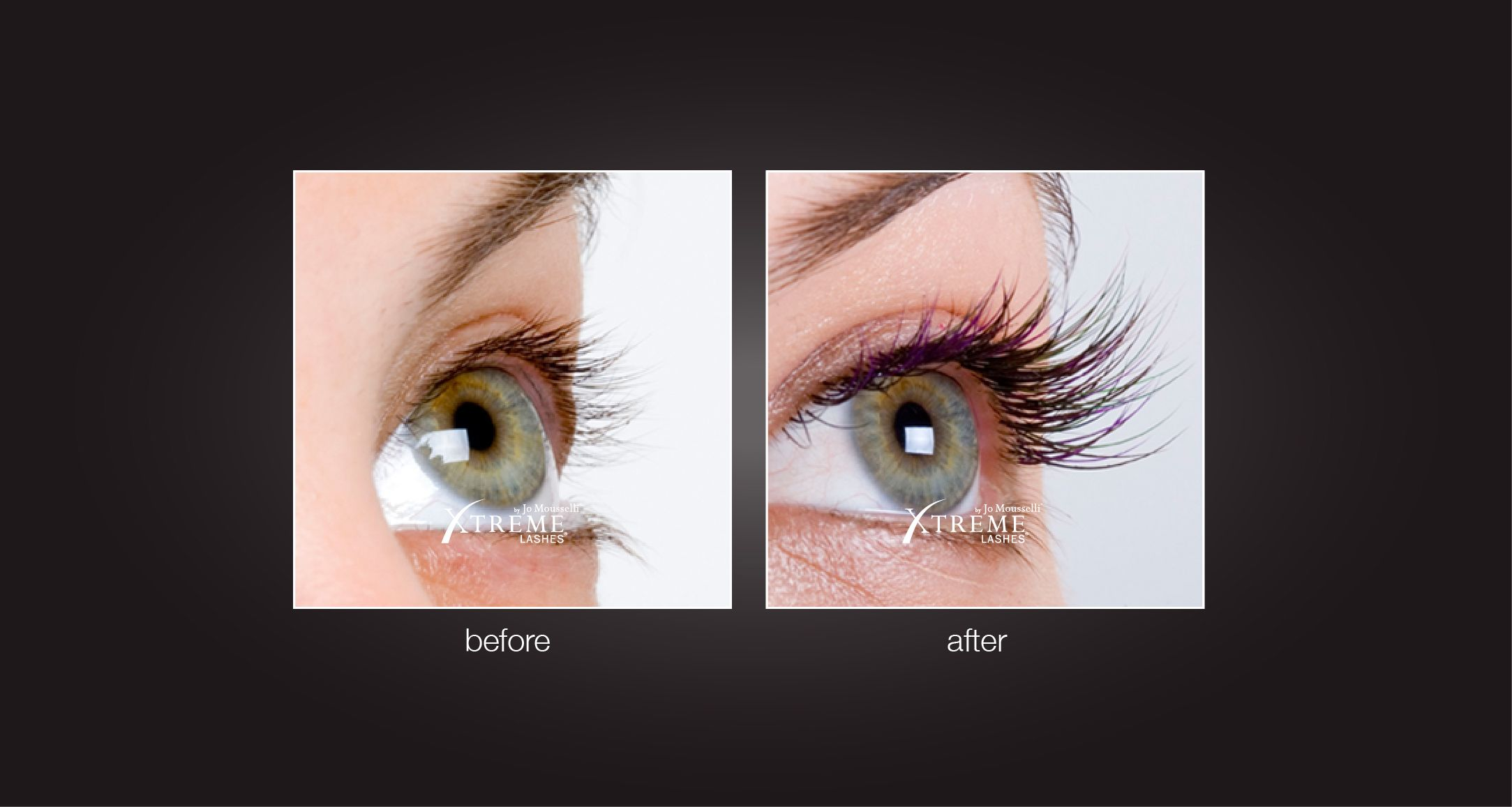Eyelash Extensions Before After...LOVE my Extreme eyelashes! One ...