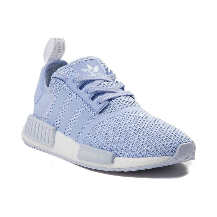 adidas nmd white and light blue