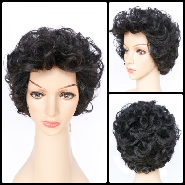 10.42$  Buy here - http://dimuz.justgood.pw/go.php?t=204014901 - Shaggy Short Layered Wavy Synthetic Wig 10.42$