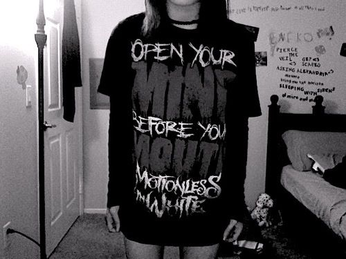 """open your mind before your mouth"" motionless in white's ..."