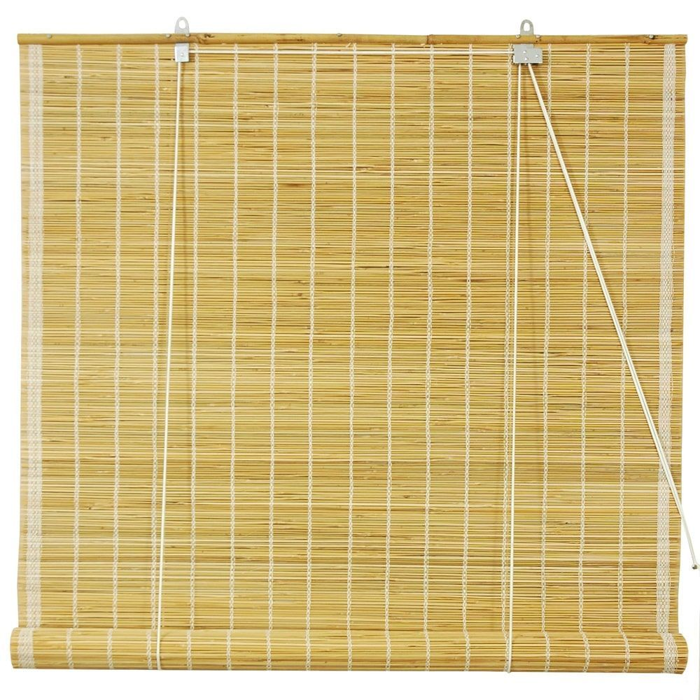 Handmade 48 Inch Natural Matchstick Roll Up Blinds China Naturalblinds Blinds For Windows Diy Blinds Roll Up Blind