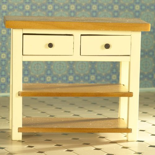 Cream Shaker-style Table From dheminis.com