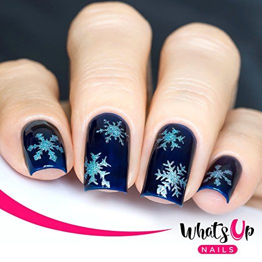 Jessica Christmas Nails: Christmas Nails Stencils 4 Pack (Candy Canes, Ribbon Tree