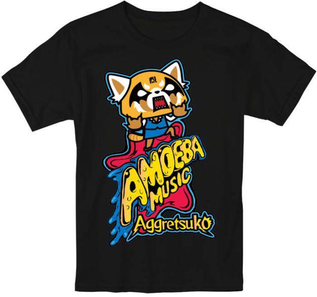 156bd5135 Aggretsuko Sanrio Anime Netflix T Shirt S-5XL | anime | T shirt ...