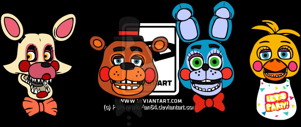 Toy bonnie and toy chica freddy s 1 2 3 4 fan art cumple pekes fnaf
