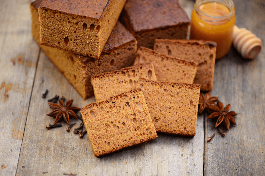 Recette de l'authentique pain d'épices, moelleux et simple à réaliser. #recettesympa