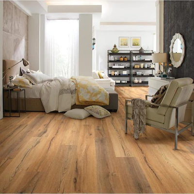 Shaw 7 6 In W X 54 33 Ft L Synergy Embossed Wood Plank Laminate Flooring At Lowes Com In 2020 Wood Planks Laminate Flooring Flooring