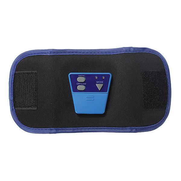 2 Straps Gels AB Gymnic Electronic Muscle Arm leg Waist Body Massager Belt