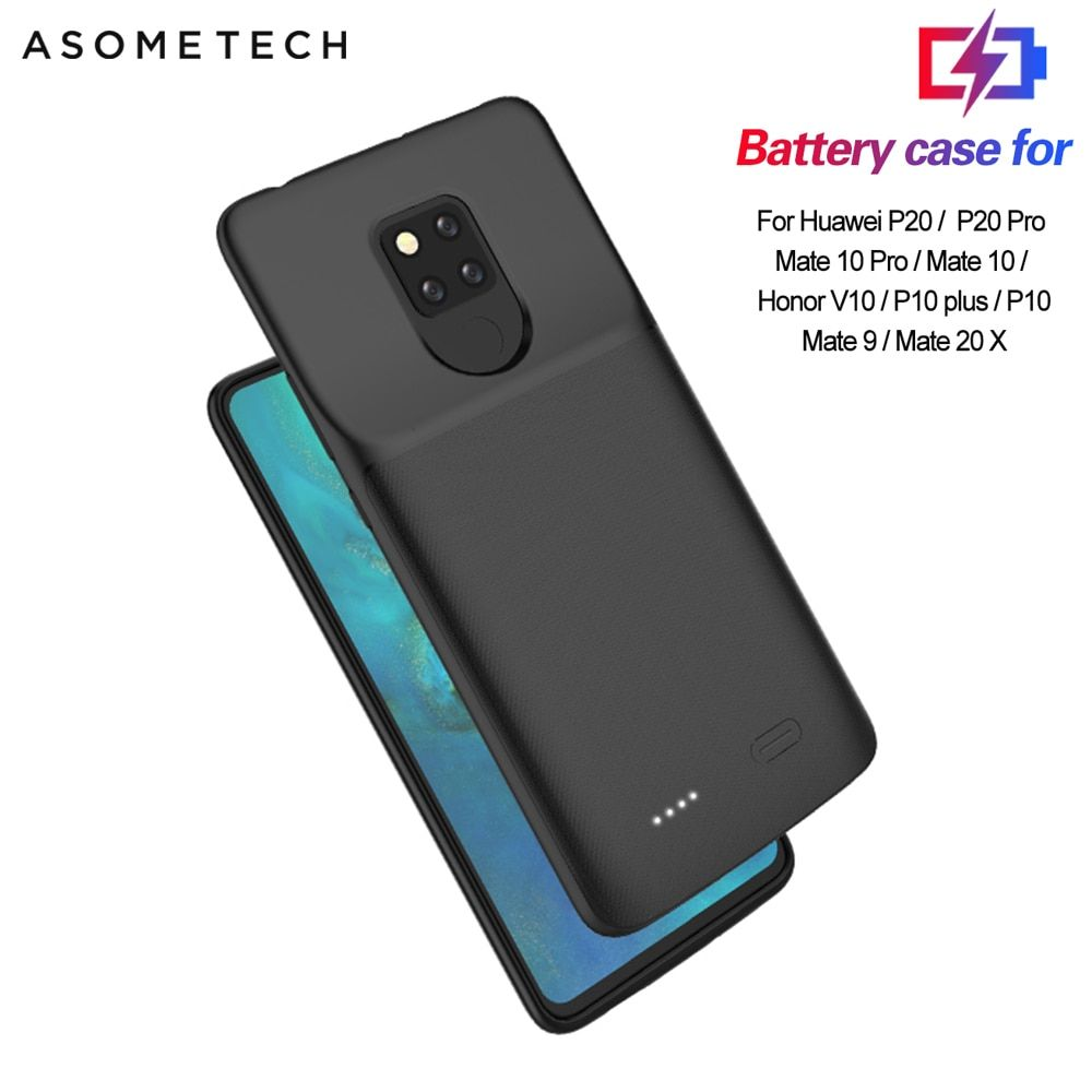 Battery Charger Case For Huawei P20 Pro Mate 20x View 10 P10 Mate 9 Power Bank Battery Case Charging Phone Cover Powerbank Case Di 2020