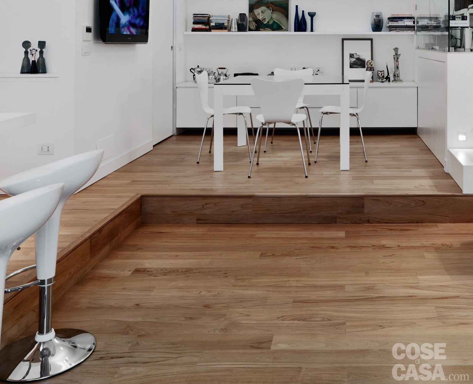 58 mq: una casa sviluppata su più livelli | Case ...