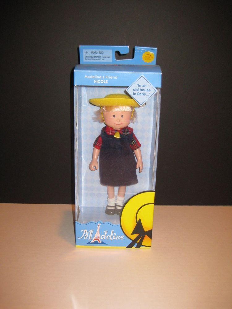 "NIB Madeline 8"" Doll Nicole in School Uniform #LearningCurve #DollwithClothingAccessories"