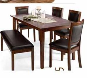 $399 King Soopers HD Designs® Malone 6 Piece Dining Set