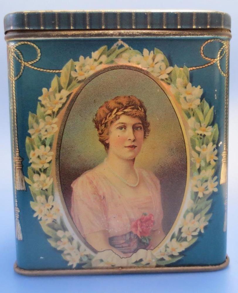 Royal Wedding Commemorative Tin Viscount Lascelles Princess Mary Princess Mary Commemoration Royal Wedding