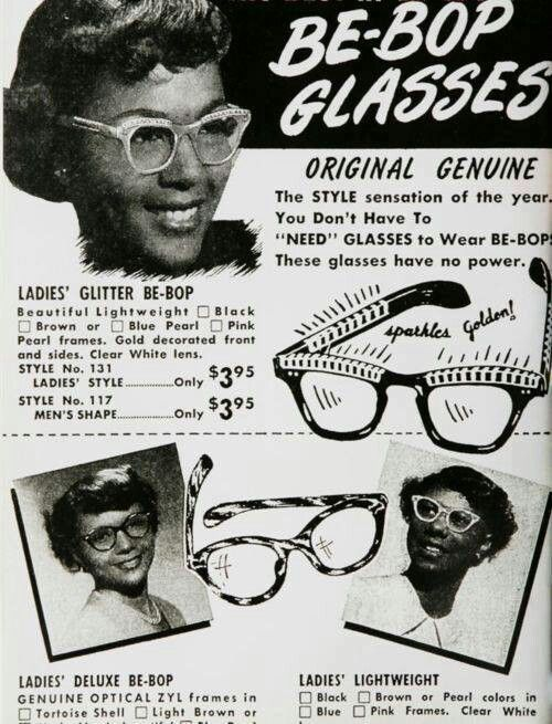 Be-Bop Glasses