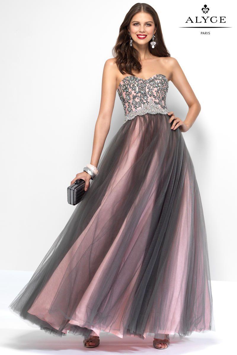 Alyce Paris 6668 Beaded Tulle Ball Gown | Alyce Paris | Pinterest ...
