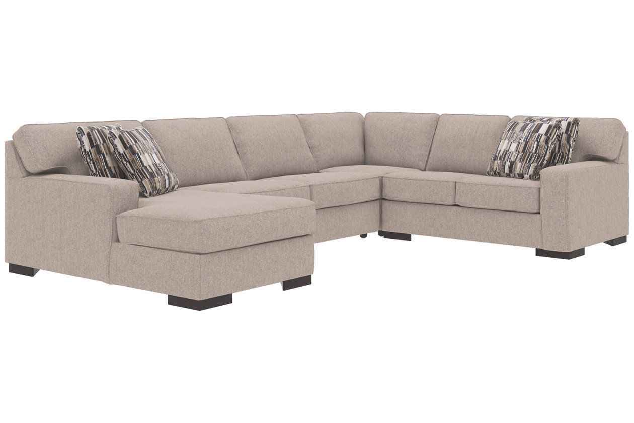 Sleeper Sectional And Pillows