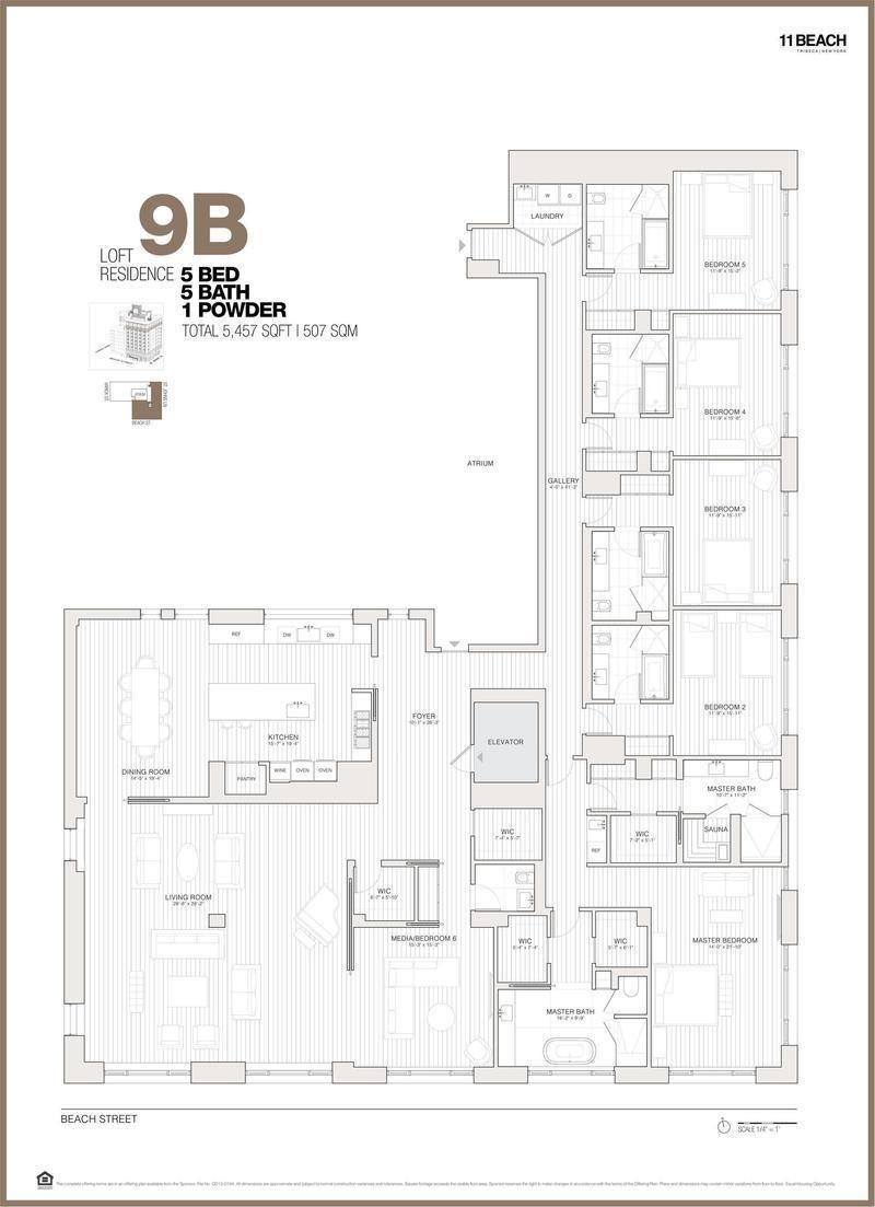 11 Beach St 9b Condo Apartment Sale At 11 Beach In Tribeca Manhattan Streeteas Apartment Floor Plans Home Building Design Penthouse Apartment Floor Plan