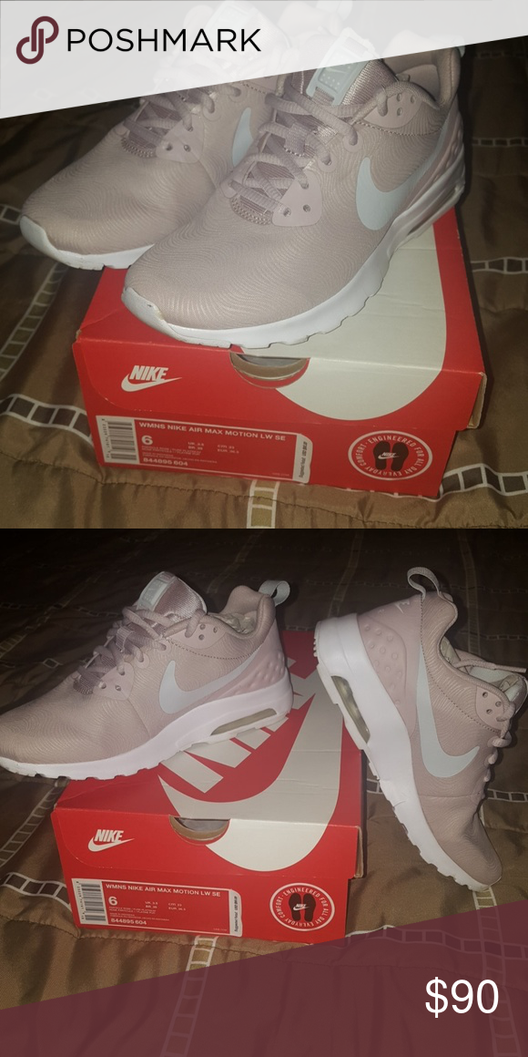 Womens nike air max motion lw Beautiful rose gold nikes with